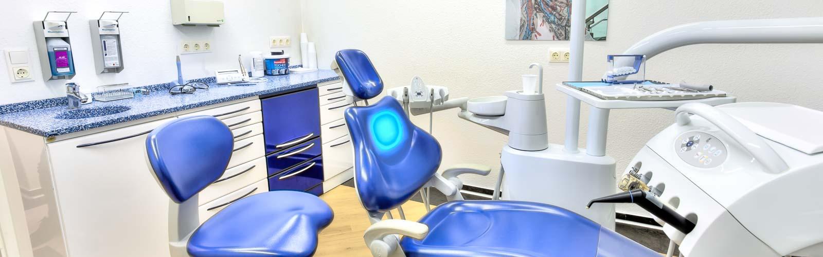 Zahnarztprais Ciecior-Behandlungszimmer